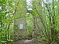 """Beim 366 km langen Neckartalradweg, Neckarburg, 793 Die """"Nehhepurc"""" wird erstmals im Besitz des Klosters St. Gallen erwähnt - 1275, Die Neckarburg erscheint mit eigener Pfarrkiche und eigenem Geistlichlen - 1589, Die Sp - panoramio (1).jpg"""