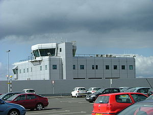 George Best Belfast City Airport - Control tower at Belfast City