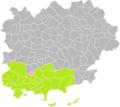 Belgentier (Var) dans son Arrondissement.png