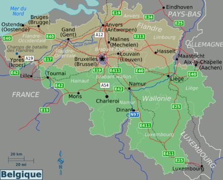 Belgique wikivoyage le guide de voyage et de tourisme - Office du tourisme francais bruxelles ...