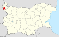 Belogradchik Municipality within Bulgaria and Vidin Province.