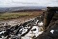 Below the top of Overstones - geograph.org.uk - 1731212.jpg