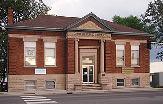 National Register of Historic Places listings in Beltrami County, Minnesota - Image: Bemidji Carnegie Library