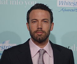 Affleck at the premiere for He's Just Not That Into You in February 2009