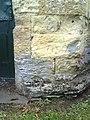 Benchmark on octagonal building in corner of Albert Park - geograph.org.uk - 2070837.jpg