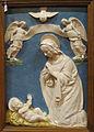 Benedetto buglioni, adorazione del bambino, 1490-1500 ca., 80x56 cm, collez. privata.JPG