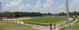 Village of Lisle-Benedictine University Sports Complex - Benedictine University baseball practice field