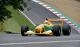 Benetton B192 Festival Italia 2018 Brands Hatch (29364189327).jpg