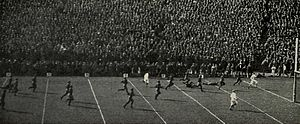 1925 Michigan Wolverines football team - Benny Friedman's 85-yard kickoff return against Wisconsin.