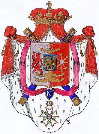 Arenberg - Grand Duchy of Berg