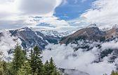 Bergtocht van Gimillan (1805m.) Naar Colle Tsa Sètse nella Valle di Cogne (Italie).  Zicht op de omringende alpentoppen van Gran Paradiso 07.jpg