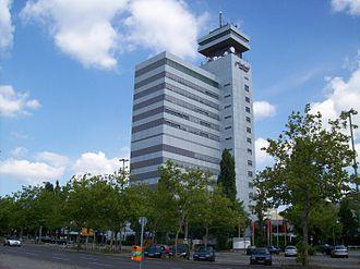Rundfunk Berlin-Brandenburg - The studio in Berlin