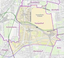 Tempelhof--Fil:Berlin-Tempelhof Karte