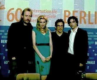 Noah Baumbach - Baumbach (far right) at Berlinale 2010 for his film Greenberg.