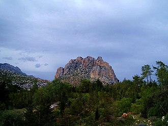 """Kyrenia Mountains - The """"Pentadaktylos"""" peak"""