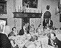 Bezoek Luxemburgs groot-hertogelijk paar. Derde dag. Haarlem (Diner), Bestanddeelnr 907-8123.jpg