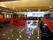 Interior of the Student Union