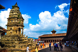 Bhaktapur Durbar Square - Durbar Area