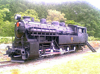 0-10-0 - Former JNR class 4110 0-10-0 preserved in Hokkaido, Japan, 2005
