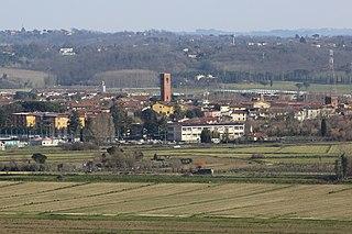Bientina Comune in Tuscany, Italy