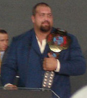 The Big Show as ECW World Champion
