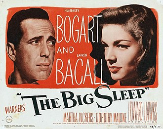 The Big Sleep (1946 film) - Theatrical release lobby card