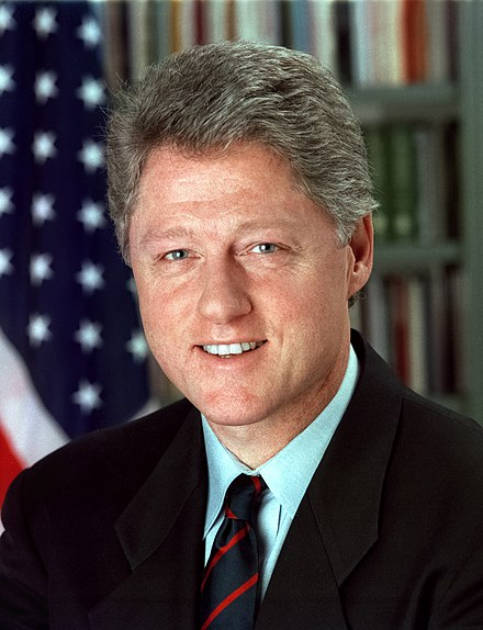 Bill Clinton, 42nd President of the United States Bill Clinton.jpg