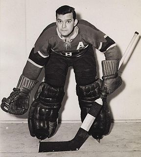 Bill Durnan Canadian ice hockey player