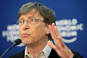 Outliers (book) - Image: Bill Gates World Economic Forum Annual Meeting Davos 2008 number 3