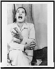 Billie Holiday photographed by Carl Van Vechten, 1949