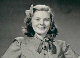Billie Lou Watt - Watt in 1945, touring company of ''Kiss and Tell''