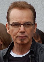 Photo of Billy Bob Thornton receiving a star on the Hollywood Walk of Fame on February 6, 2012.