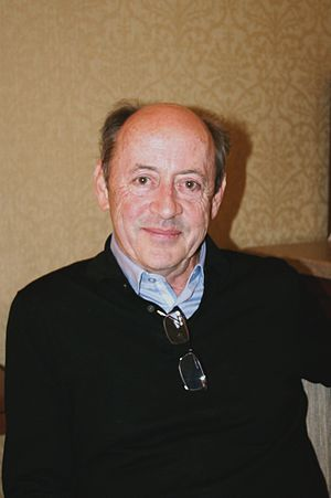 English: Poet Billy Collins at the Union Squar...