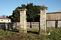 Birkin Hall gatepiers - geograph.org.uk - 1611532.jpg