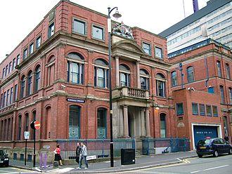 Birmingham Assay Office - Image: Birmingham Assay Office Newhall Street Birmingham 2005 10 13
