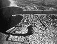 Luftaufnahme von Bizerte, Tunesien, im Jahr 1961