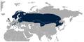 Black Grouse Lyrurus tetrix distribution map.png