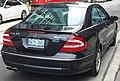 Black Mercedes CLK 55 AMG (C209) Toronto rr.jpg