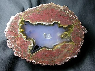 Thunderegg A nodule-like rock, that is formed within rhyolitic volcanic ash layers