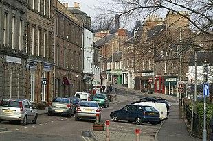 Blairgowrie town centre