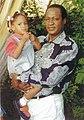 Blaise Compaoré avec sa fille, 1998.jpg