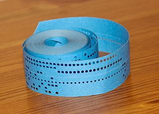 cinta perforada
