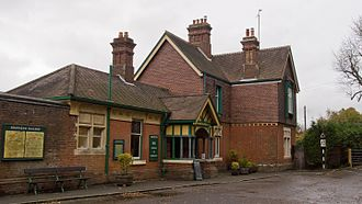 Bluebell Railway - Horsted Keynes station