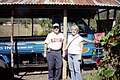 Bob and Janet with the Hermandad Truck.jpg