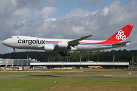 Boeing 747-8R7(F) Cargolux LX-VCC, LUX Luxembourg (Findel), Luxembourg PP1340036553.jpg