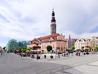 Bolesławiec - Market Square and Town Hall
