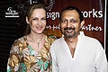 Bollywood Actors Akhil Mishra & Suzanne Bernert from Germany in Bollywood 2.jpg