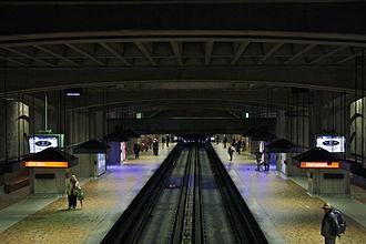 Bonaventure station - Image: Bonaventuremetro 2011