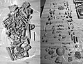 Bones remains from archaeological sites of the Chuch of Santa María de Zamartze 02.jpg
