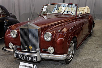 Rolls-Royce Silver Cloud - Image: Bonhams The Paris Sale 2012 Rolls Royce Silver Cloud Drophead Coupé 1957 004